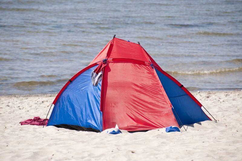 Tag på telttur eller en tur til storbyen