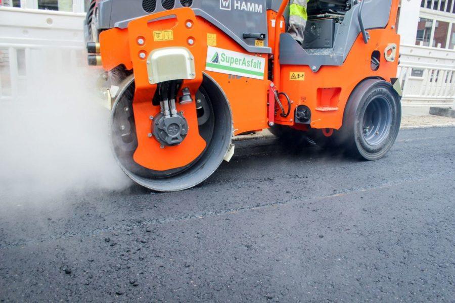 Få lagt asfalt til privat formål her